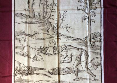 Carré de soie, Musée de la Chasse et de la Nature